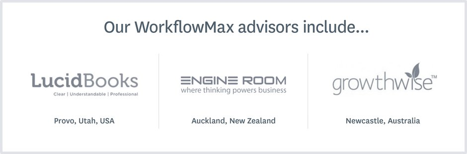 Our WorkflowMax partners include...