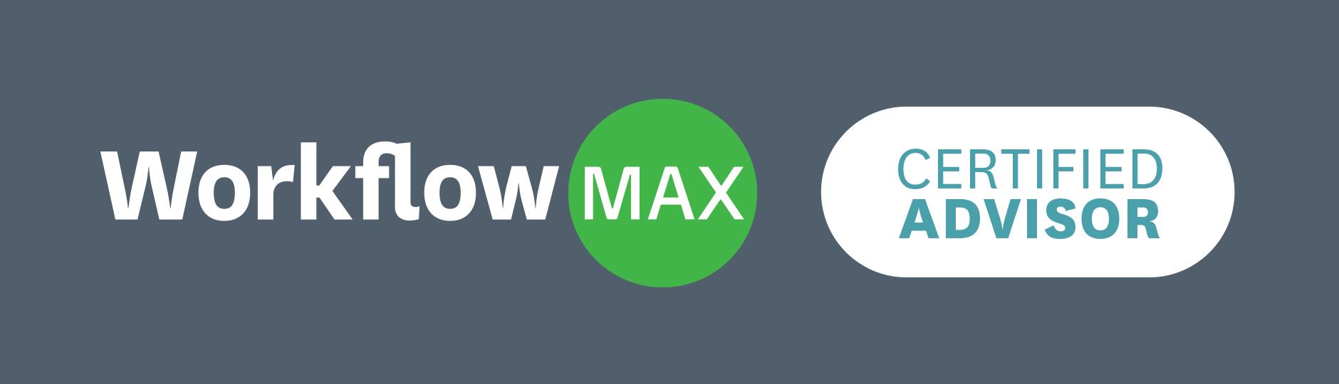 WorkflowMax Certified Advisor badge