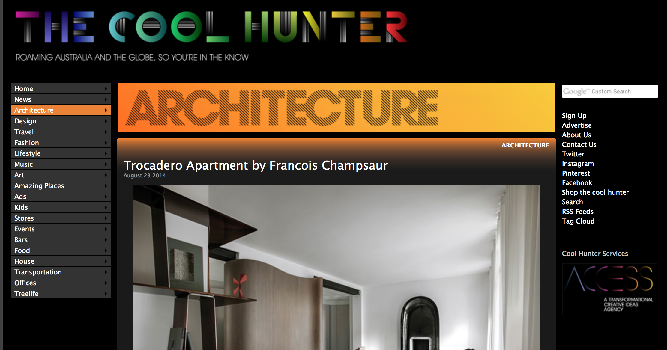 cool hunter names 25 architecture blogs for design inspiration 10181