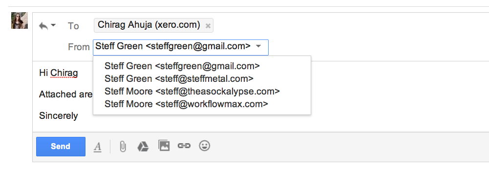 gmail email aliases