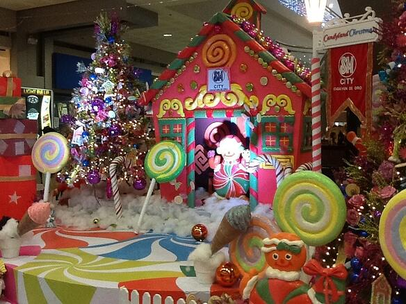 candyland chocolate factory christmas party