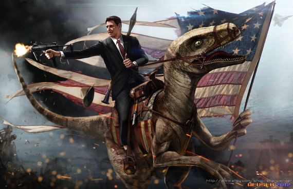 reagan_and_raptor