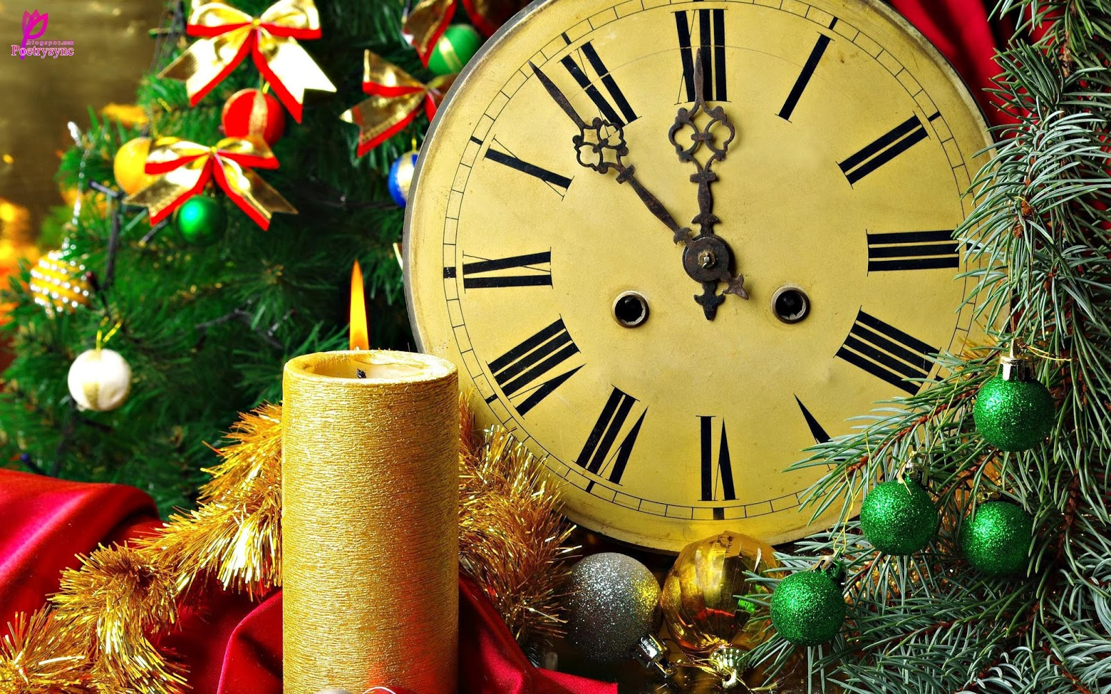 Merry-Christmas-Wide-Clock-Wallpaper-2560x1600