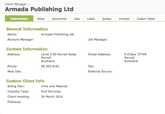 online client management software