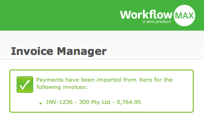 Xero integrates back into WorkflowMax