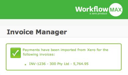 Xero integrates back into WorkflowMax