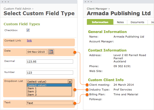 Need insights? It's easy to create customized fields