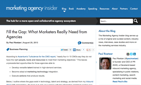 marketing agency insider