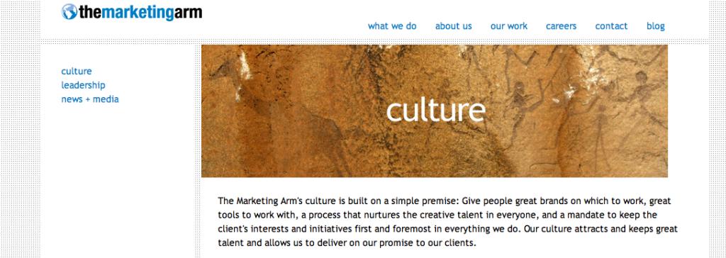 marketing arm blog