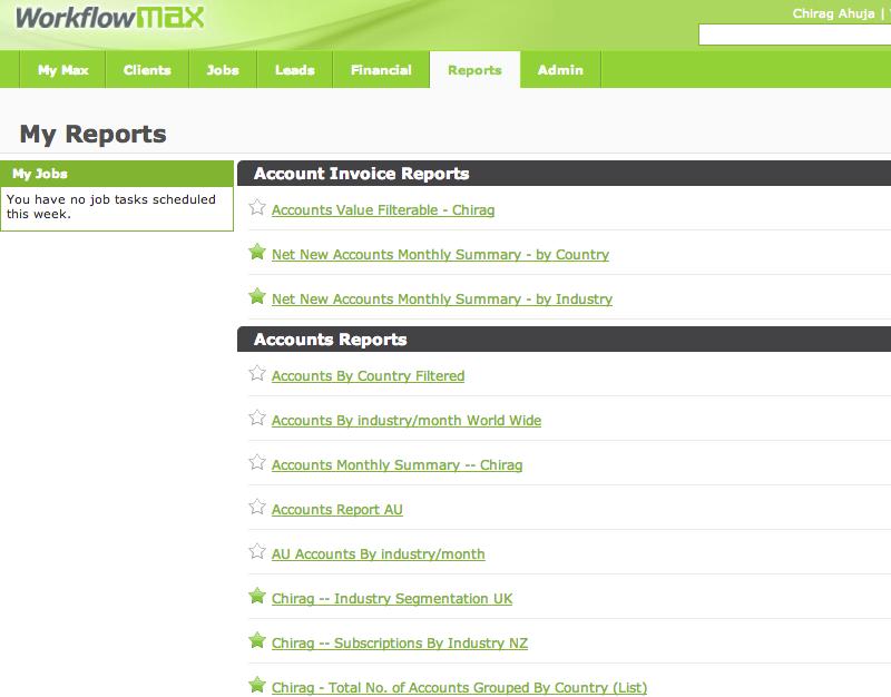 WorkflowMax___My_Reports