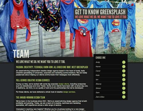 greensplash about page