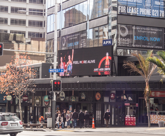 APN outdoor flash billboard workflow max