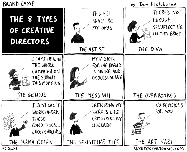 8 types of creative directors