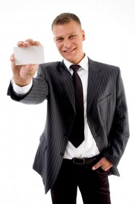 business man card