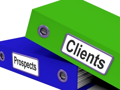 prospects into clients