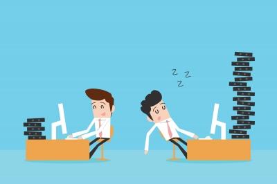 lazy staff