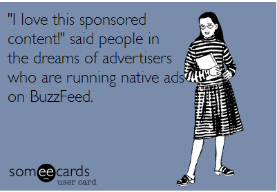 A little marketing humour.
