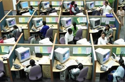 The typical office cubicle.