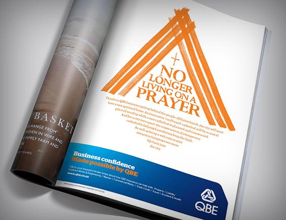 QBE magazine ad.