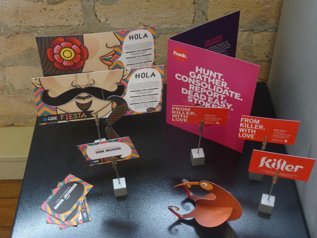 More of ellen&ellen's branding work.