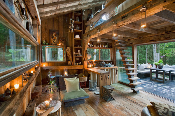 Scott Newkirk's cabin.