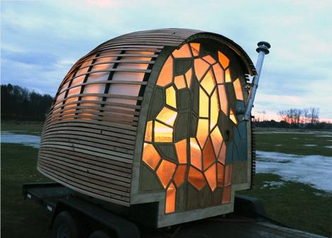 OTIS house - designed by students.