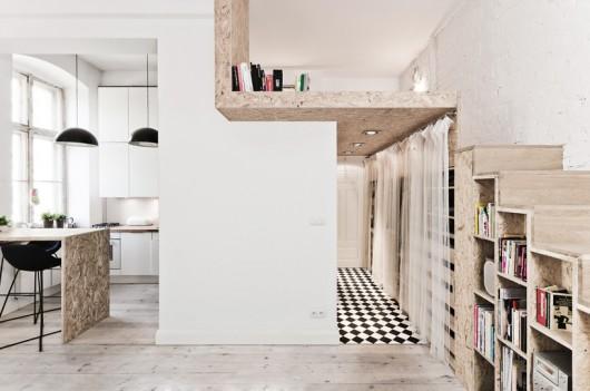 Stylish and cosy Polish apartment.