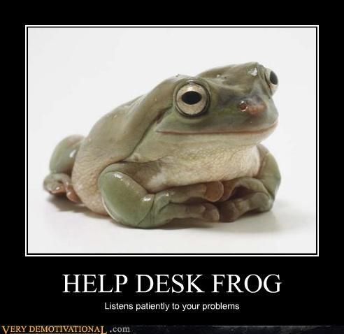 0 helpdesk frog