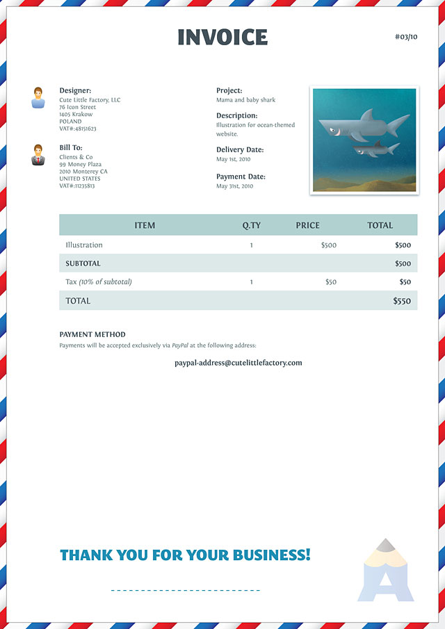 invoice 23