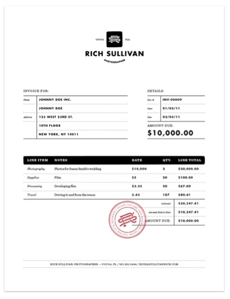 Freshbooks Invoice Templates Cute Invoice Template Invoice Template Etsy Invoice Templates I  Invoice Journal Excel with Invoicing Clients Excel Think Your Invoice Is Boring Here Are The Top  Beautiful Printable Rent Receipt Form Pdf