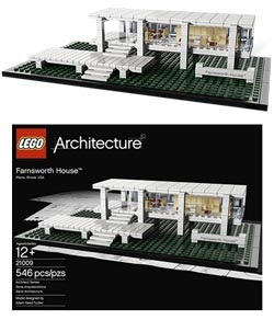 LEGO Farnsworth House