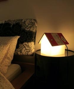 Bookstand Lamp, from SUCK UK