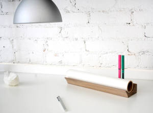 Place for Trace paper and pen holder.