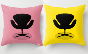 Modernist Chair cushion covers, by TheGretest