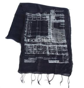 Blueprint scarf