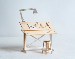 Drawing table kit, from PattyMora
