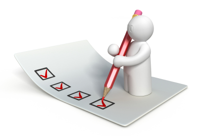 Create a survey or other way of soliciting feedback.
