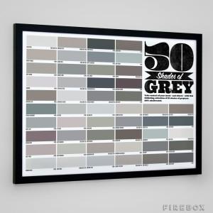 50 Shades of Grey poster.