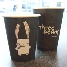 Gangster Rabbit coffee from Three Beans.