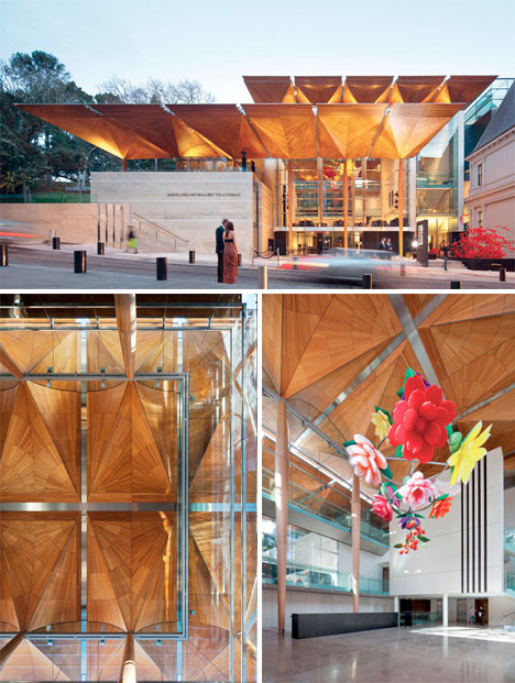 The Auckland City Art Gallery, winner of the World Architecture Awards