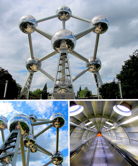The Atonium, Belgium.