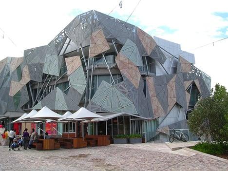 Federation Square, Melbourne, Australia.