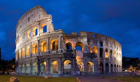 Collosseum, Rome, Italy.