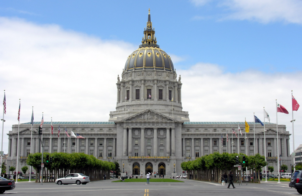 San Francisco Civic Centre, San Francisco, US.