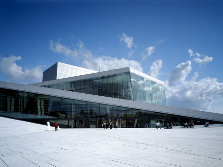 New Ballet & Opera House, Oslo, Norway.