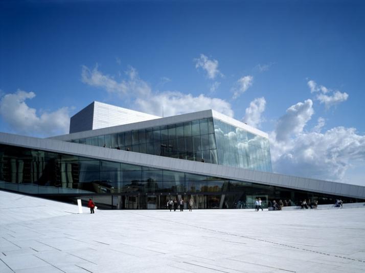 New Ballet & Opera House, Oslo, Norway.