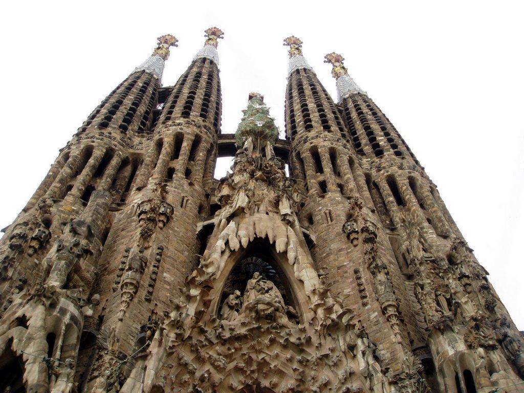 Sagrada Familia, Barcelona, Spain.