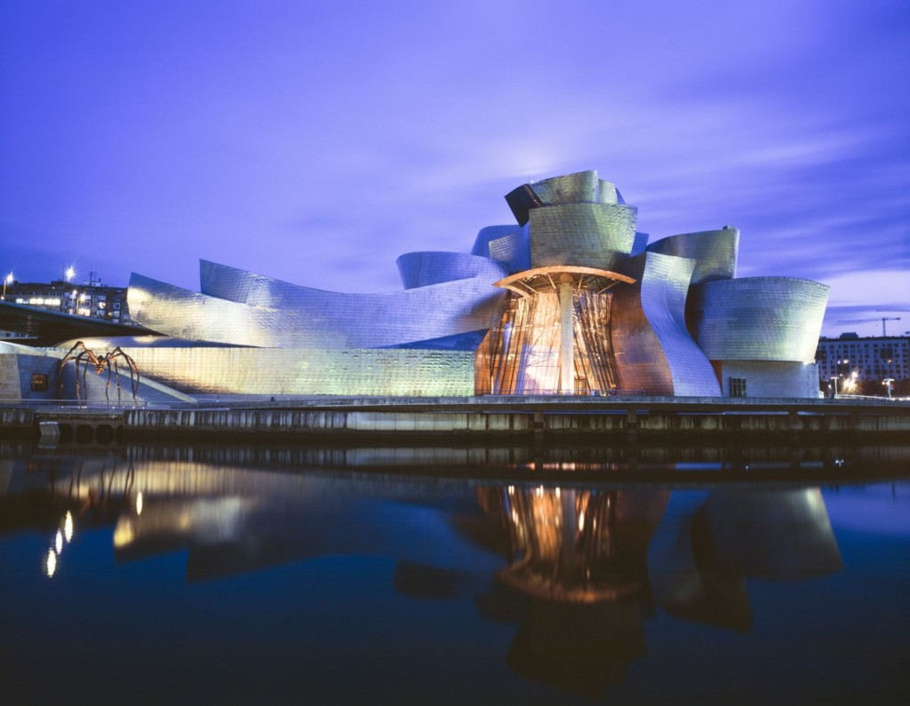 The Guggenheim Museum, Bilbao, Spain.