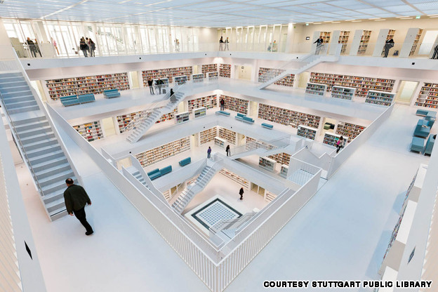 Stuttgart Library, Stuttgart, Germany.