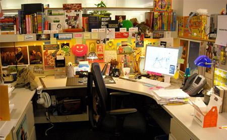 Designer Ben Mautner's office.